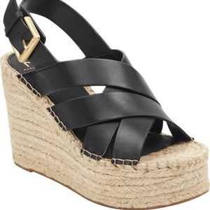 NWT, Marc Fisher Alenni Platform Wedge
